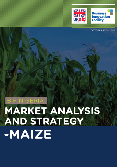 Market Analysis and Strategy - Maize