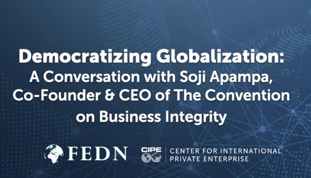 Democratizing Globalization